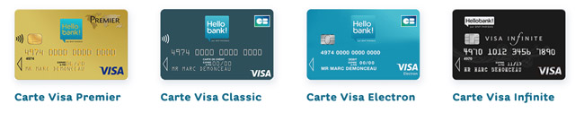 hellobank cartes visa
