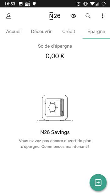 n26 épargne