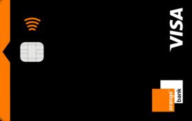 orange bank carte visa