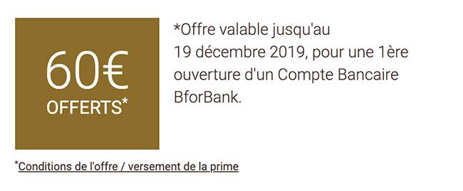 bforbank offre bienvenue