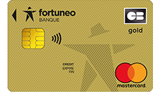 fortuneo carte gold