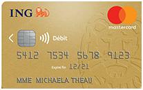 ing carte gold mastercard
