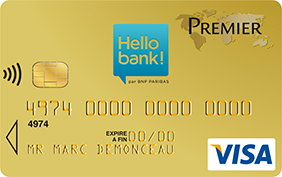 hello bank carte visa premier