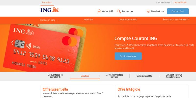 ing compte courant