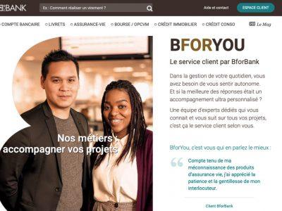 service client bforbank bforyou